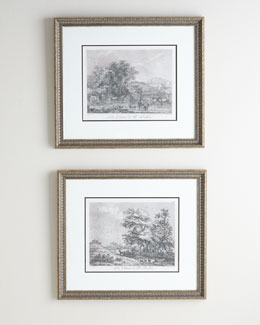 PARAGON DECORS Two Landscape Prints