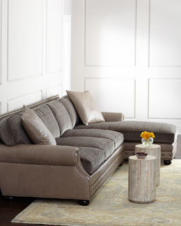 Old Hickory Tannery Hamilton Sectional
