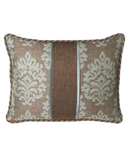Dian Austin Villa Standard Damask & Tweed Sham with Cording
