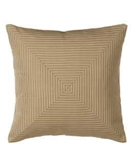 "Jane Wilner Designs Camel Pillow, 20""Sq."
