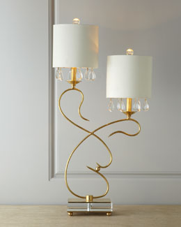 "John-Richard Collection ""Elegant Excellence"" Buffet Lamp"