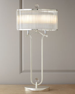 "John-Richard Collection ""Metro"" Crystal Lamp"