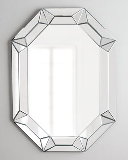 Regina-Andrew Design Elongated Octagonal Mirror