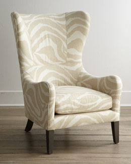 "Lee Industries ""Somerset"" Wing Chair"