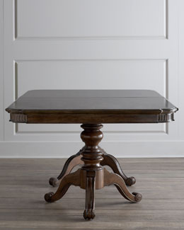 """Coleman"" Pedestal Dining Table"
