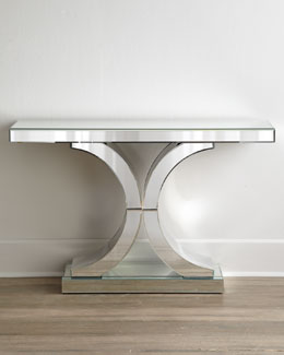 """Splendora"" Mirrored Console"