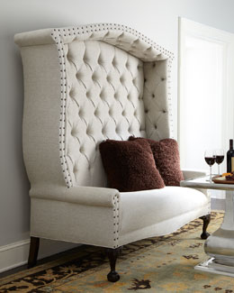 "Haute House ""Bridgeport"" Settee"