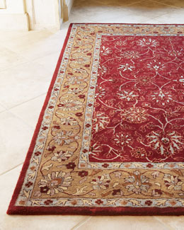 """Ruby Traditional"" Rug, 7'9"" x 9'9"""