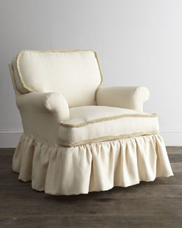 "Lee Industries ""Waldwick"" Eggshell Chair"