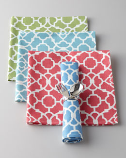 "Legacy Four ""Lovely Lattice"" Napkins"