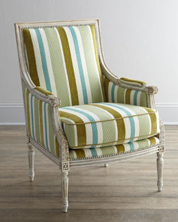 "Massoud ""Jenilynn"" Striped Chair"