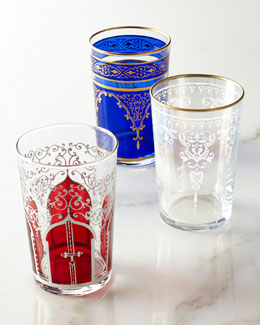 "Six ""Moroccan"" Tea Glasses"