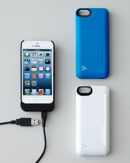 iPhone 5 Hybrid Snap Case/Battery Charger