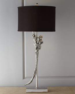 "John-Richard Collection ""Salvaged Wood"" Table Lamp"
