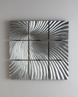 """Quantum Flux"" Wall Sculpture"