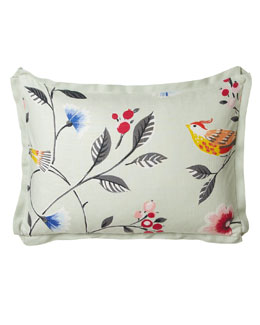 French Laundry Home Standard Bird & Flowers Sham