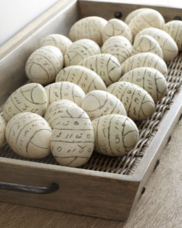 """Nest Eggs"" Decorative Objects"