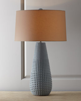 "Arteriors ""Xavier"" Matte Porcelain Table Lamp"