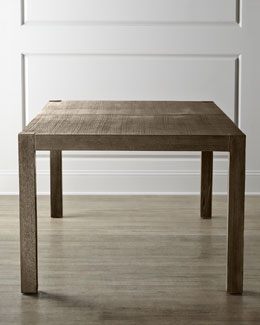 """Karington"" Ash Dining Table with Two Leaves"