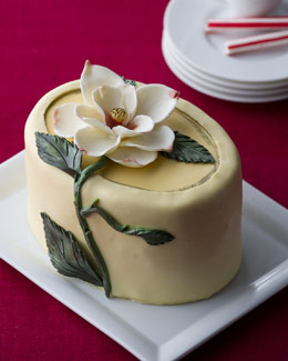 """Magnificent Magnolia"" Cheesecake"