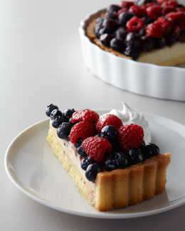 Mixed-Berry Tart