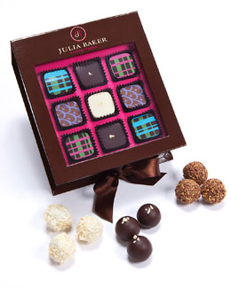 Julia Baker Confections 18-Piece Window Box Chocolates