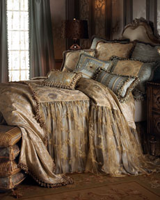 "Sweet Dreams ""Crystal Palace"" Bed Linens"