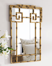 """Bamboo"" Mirror"