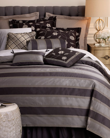 Queen 600 Thread Count Pima Stripe Sheet Set