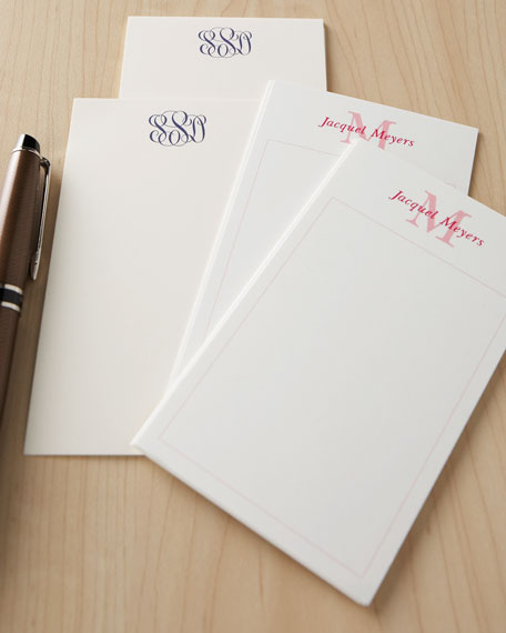500 Initial Jotter Cards