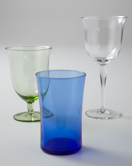 Curved Water Glass