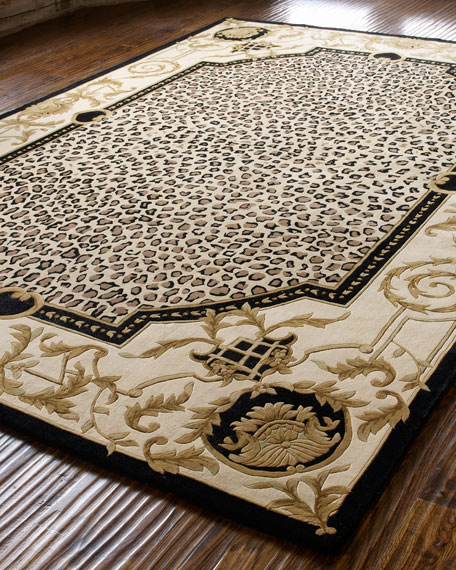 """Leopard Maple"" Rug, 3'6"" x 5'6"""