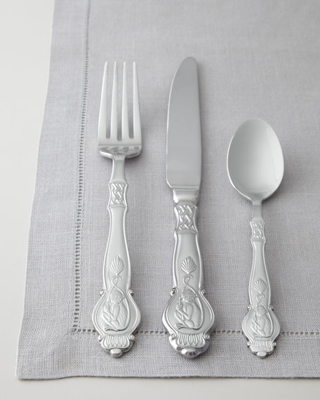 "45-Piece ""Monkey"" Flatware Service"