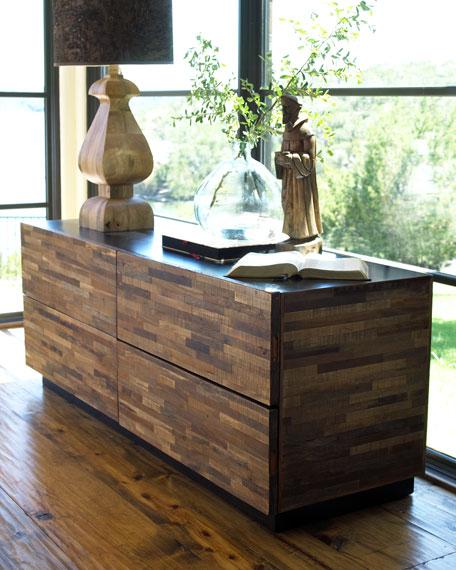 Peroba Four-Drawer Dresser