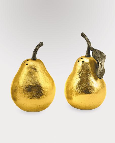 """Pear"" Salt & Pepper Shakers"