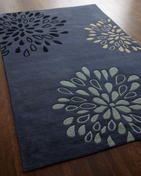 """""""Tranquility"""" Rug, 5' x 8'"""