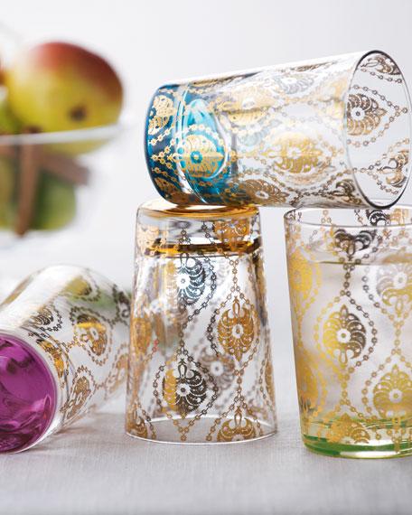 "Four ""Moroccan"" Tea Glasses"