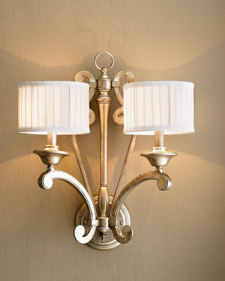"""""""Highcroft"""" Two-Light Sconce"""