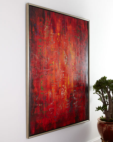 """""""Lavaflow"""" Jinlu Painting"""