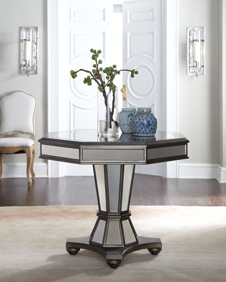 Delicieux Willow Mirrored Entry Table