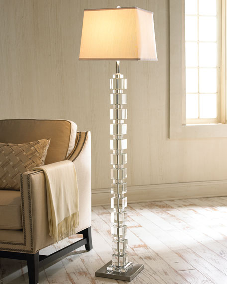 Crystal cube floor lamp aloadofball Images