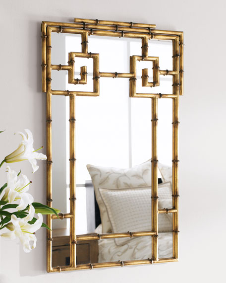 Quot Bamboo Quot Mirror