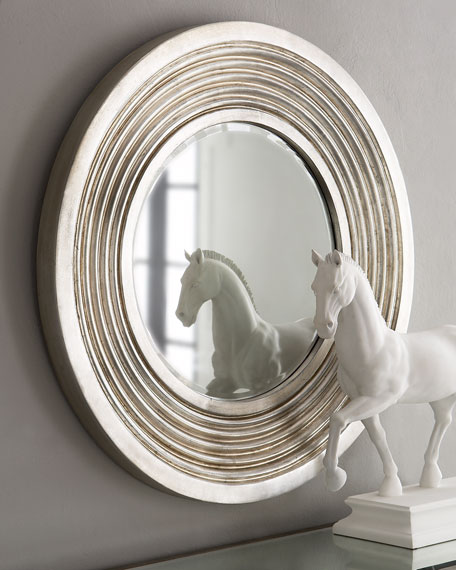 Silver Deco Mirror