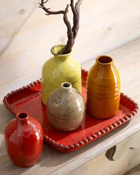 """""""Parisian"""" Vases on Tray"""