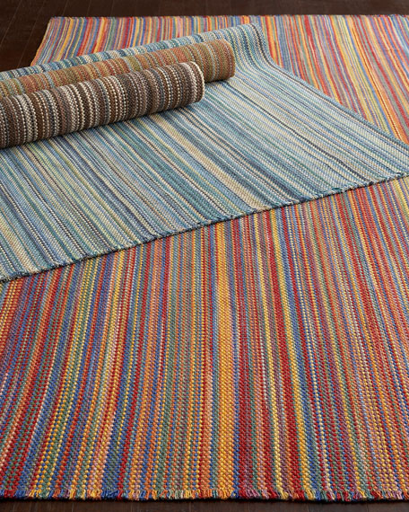 """Morgan Stripes"" Rug, 5' x 8'"