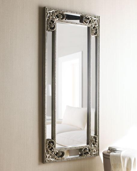 """Silver"" Overlay Mirror"