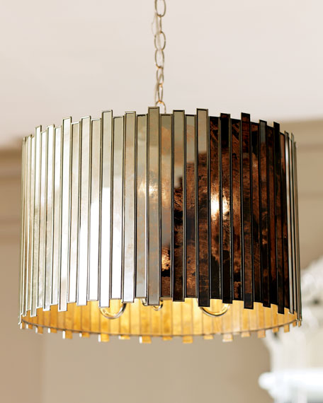 """Mosaic Strips"" Chandelier"