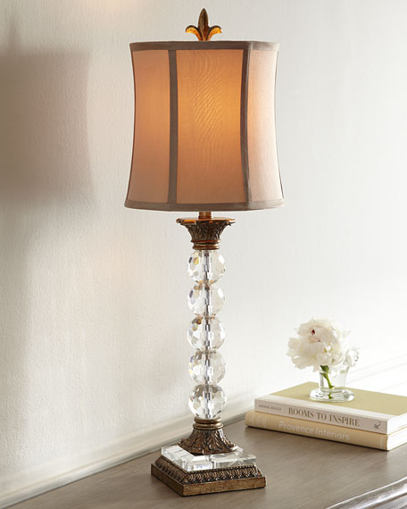 """Crystal Ball"" Lamp"
