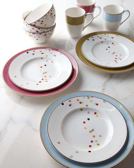 "Kate Spade ""Bright Dots"" Dinnerware Four-Piece Place Setting"