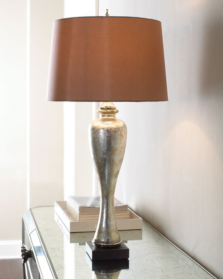 """Mason Mercury Glass"" Lamp"